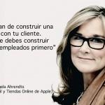 Angela Ahrendts cambio la ropa por la tecnología